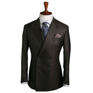 Classic Chocolate Brown Suit